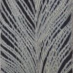 2014 藍染絞布 羽の木 180×135