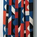 2005 型染布 縞文'04  120×300