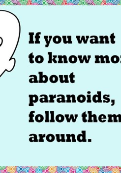 paranoia quotes | 30 self enlightened words
