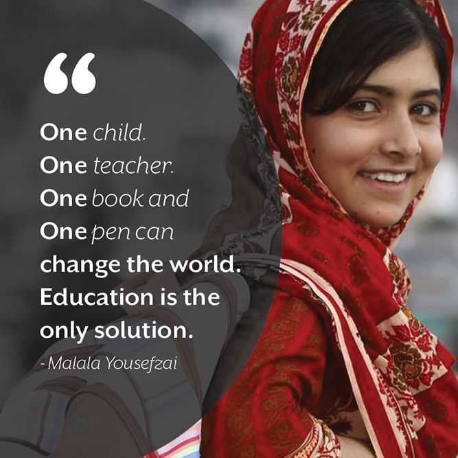 35 Malala Yousafzai Quotes That Have Changed The World