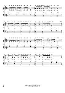 Uslanmıyor Bu - Kolay Piyano Notası