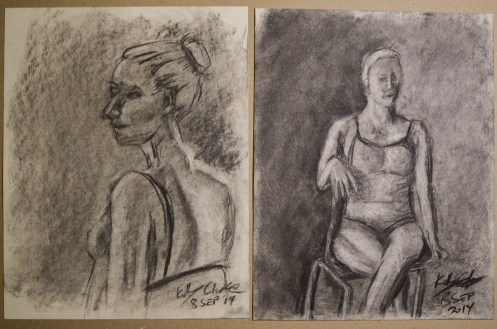 Drawing Class - Figure Charcoal