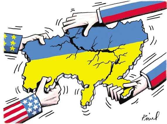 ukraine occident et la Russie