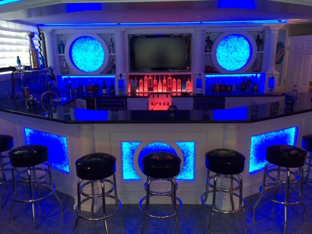 Home Bar Amp Fitness Room Galleries In Frankfort