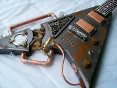 Steampunk Guitar/ Rob Lee (CC BY-ND 2.0)