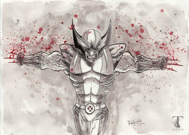 Wolverine final orginal / Ben Templesmith (CC BY-NC-ND 2.0)