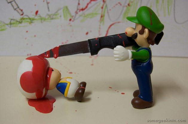 Casey Fleser / Video Game Violence (55 / 365) (CC BY 2.0)