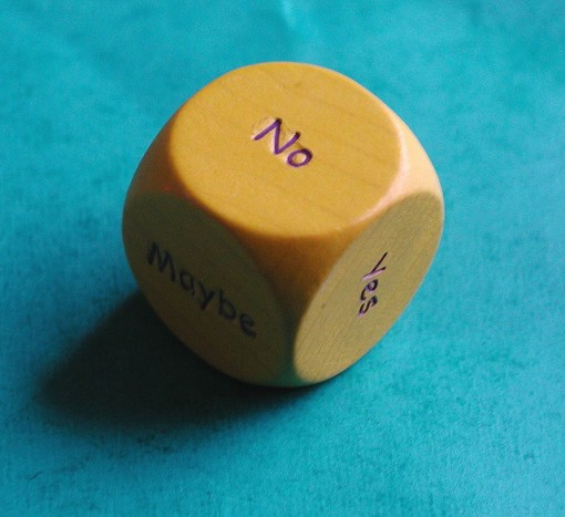 Anne-Lise Heinrichs / indecision dice (CC BY 2.0)