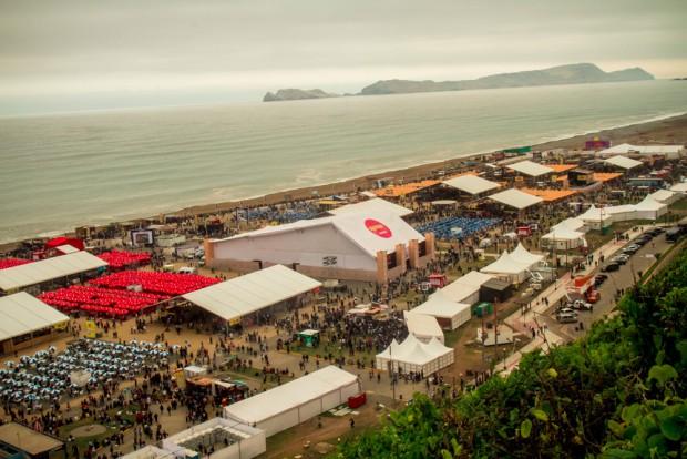 Mistura Food festival in Lima.