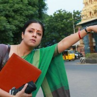 Why Jyothika dubbed in her voice for Magalir Mattum?