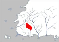Umiejscowienie Ghealdan namapie Westland