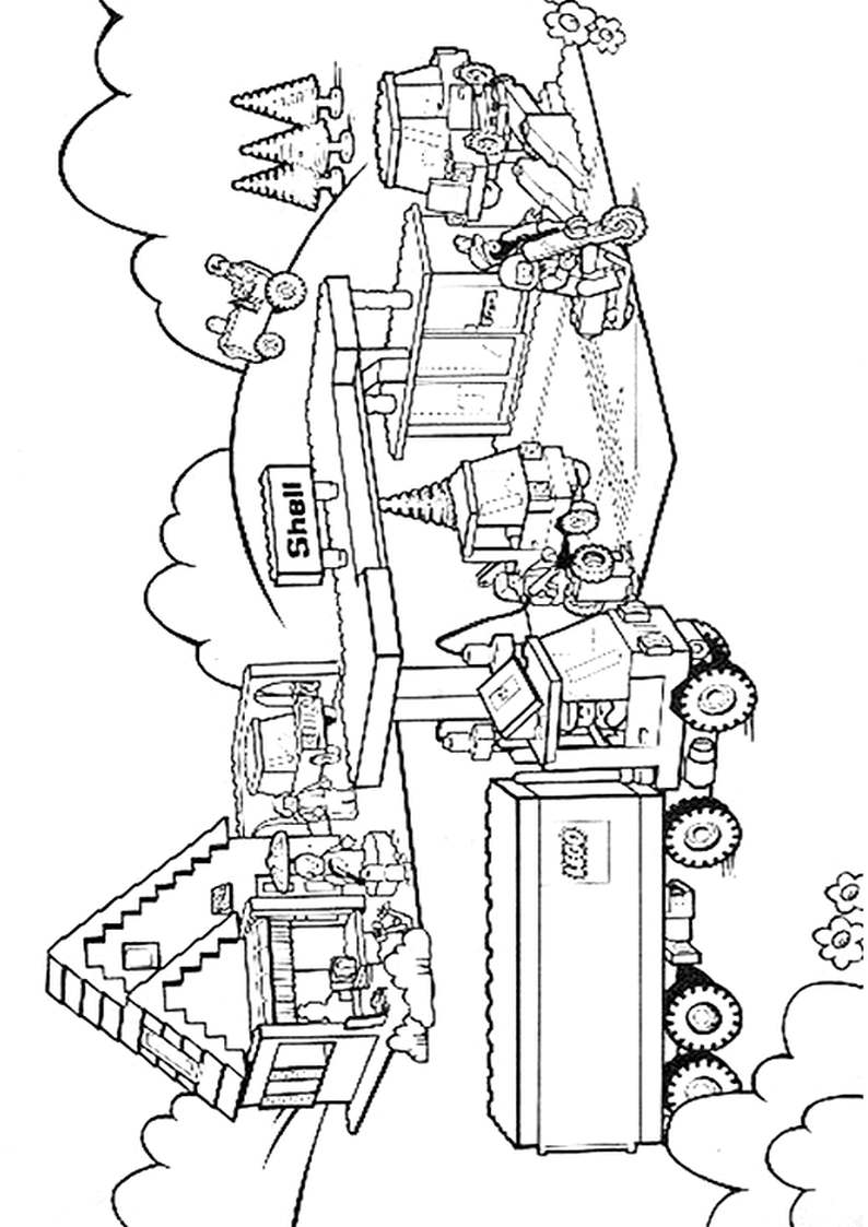 Lego City Airplane Coloring Pages Lego City Coloring Coloring Pages