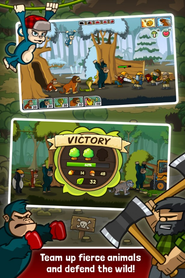 Line Ranger Revenge Monkey King Lion Gorilla Kung Fu Panda Madagascar