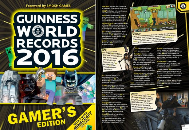 Lumberwhack: Defend the Wild published in Guinnes World Record Gamers Edition.