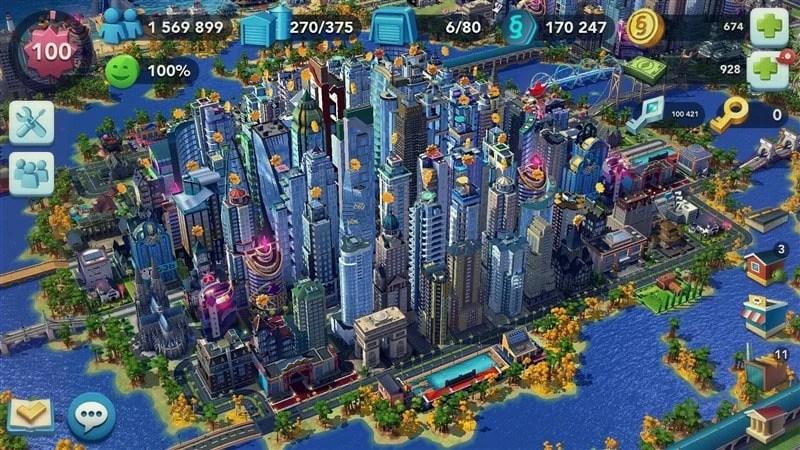 SimCity Buildit Hileli Apk