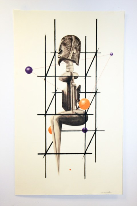 African American Art, African American Artist, Sanford Biggers, KOLUMN Magazine