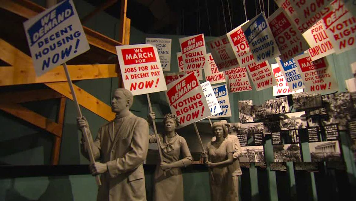 Civil Rights Museums, National Civil Rights Museum, National Center for Civil and Human Rights, Smithsonian National Museum of African American History and Culture, KOLUMN Magazine, KOLUMN
