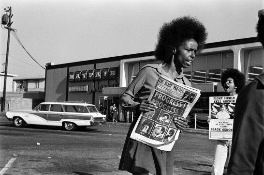 Black Panther Party, Stephen Shames, Black History, KOLUMN Magazine, KOLUMN
