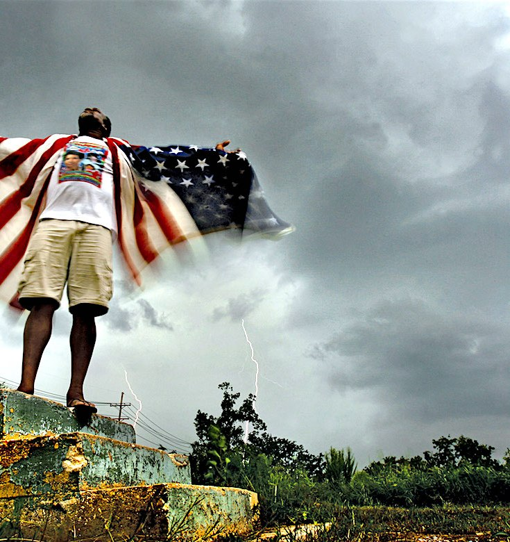 Hurricane Katrina, New Orleans, White Supremacist, Racism, Vigilantes, KOLUMN Magazine, KOLUMN