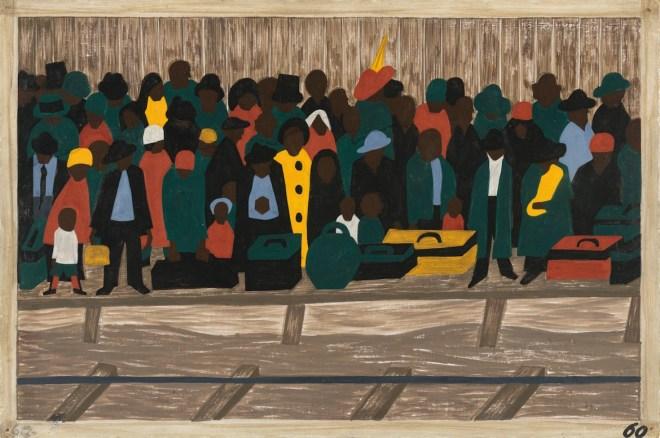 Jacob Lawrence, Migration Series, African American Painter, African American Artist, KOLUMN Magazine, KOLUMN