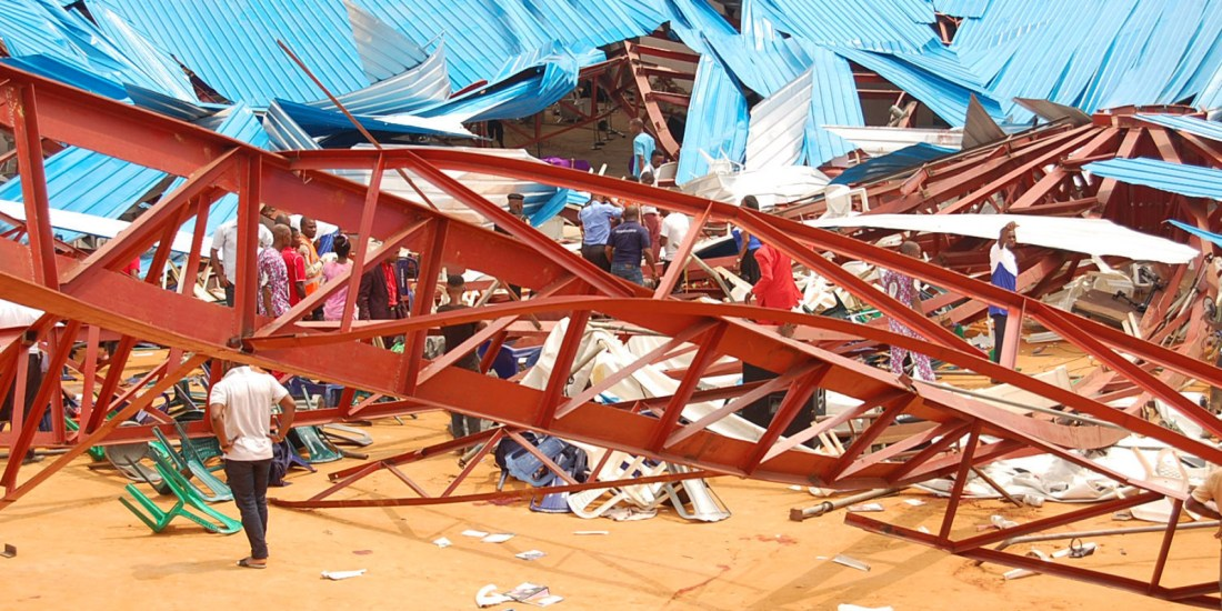 Reigners Bible Church International, Nigeria, Nigerian Church, Church Collapse, KOLUMN Magazine, KOLUMN