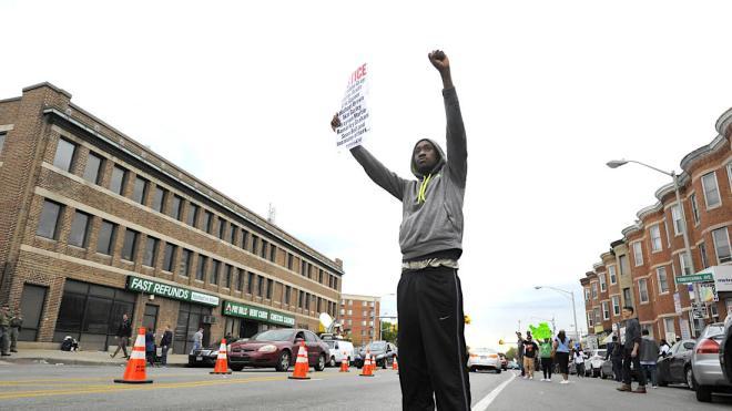 Freddie Gray, Baltimore Riots, Baltimore Protest, Police Violence, Police Brutality, KOLUMN Magazine, KOLUMN