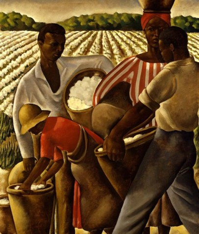 Earle Richardson, Thomas Hart Benton, Eli Whitney, Cotton Gin, KOLUMN Magazine, KOLUMN