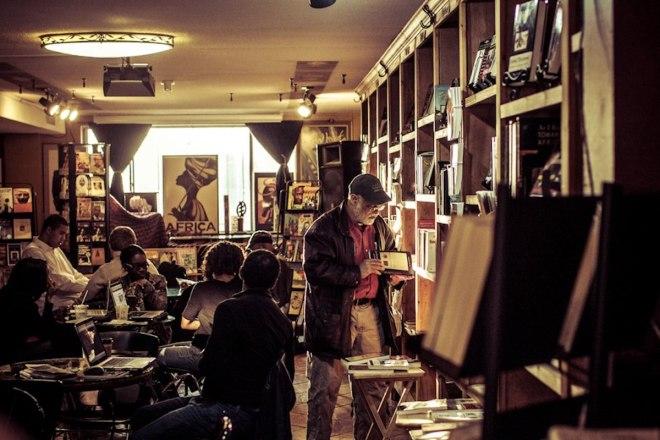 Sherikiana Gerima, Sankofa Books & Cafe, Sankofa, African American Bookstore, Black Bookstore, Black Owned Bookstore, WRIIT, Wriit, Great Eats, Washington DC Restaurants, Black Owned Restaurants, KOLUMN Magazine, KOLUMN