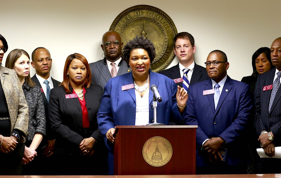 Stacey Abrams, Georgia Politics, Georgia Governor, African American Politics, African American News, KOLUMN Magazine, KOLUMN