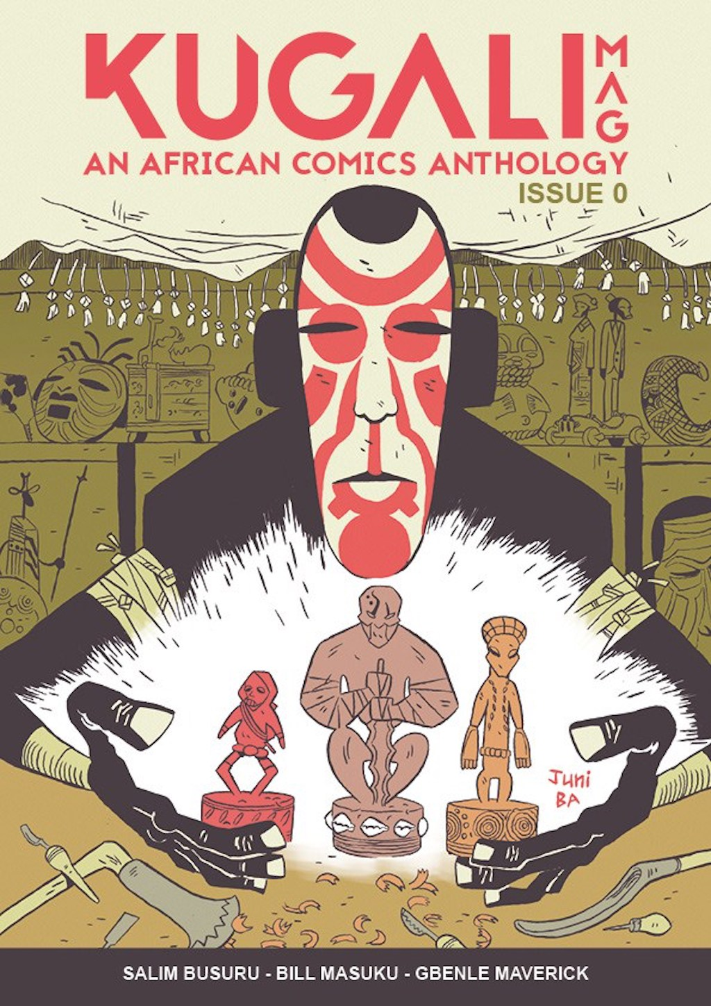 African Literature, African Comics, Yohance, Outcasts of Jupiter, Jinx, Kugali MAG, KOLUMN Magazine, KOLUMN