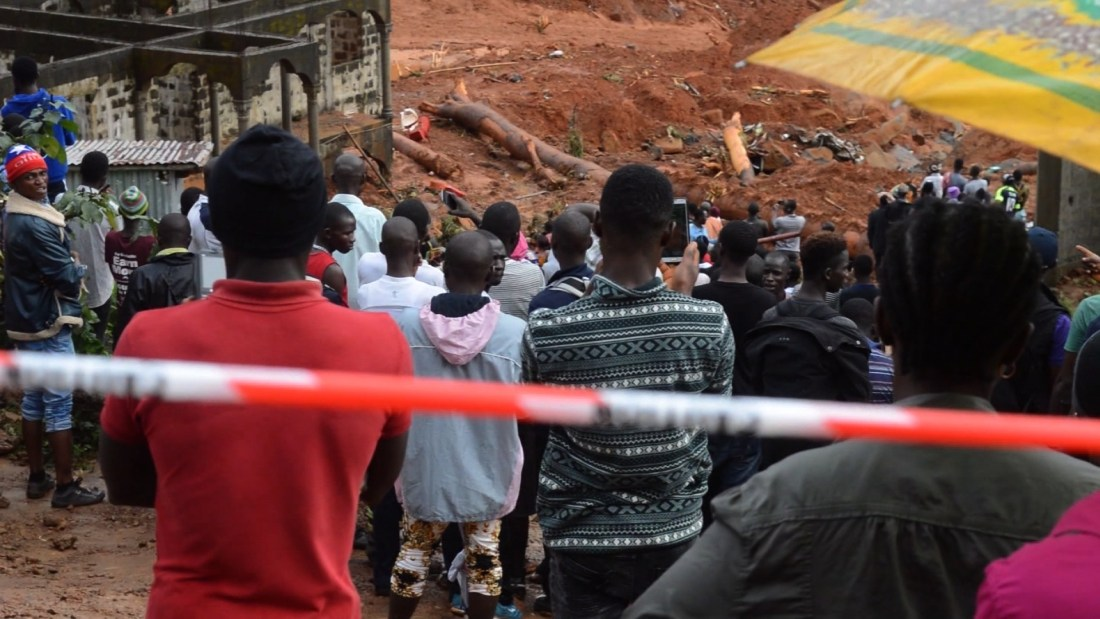 Sierra Leone, Natural Disaster, Mudslide, Freetown, KOLUMN Magazine, KOLUMN
