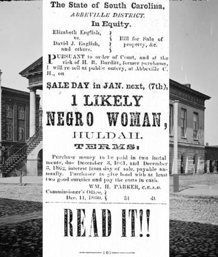 Slave Auctions, U.S. Slavery, Slavery, International African American Museum, IAAM, KOLUMN Magazine, KOLUMN