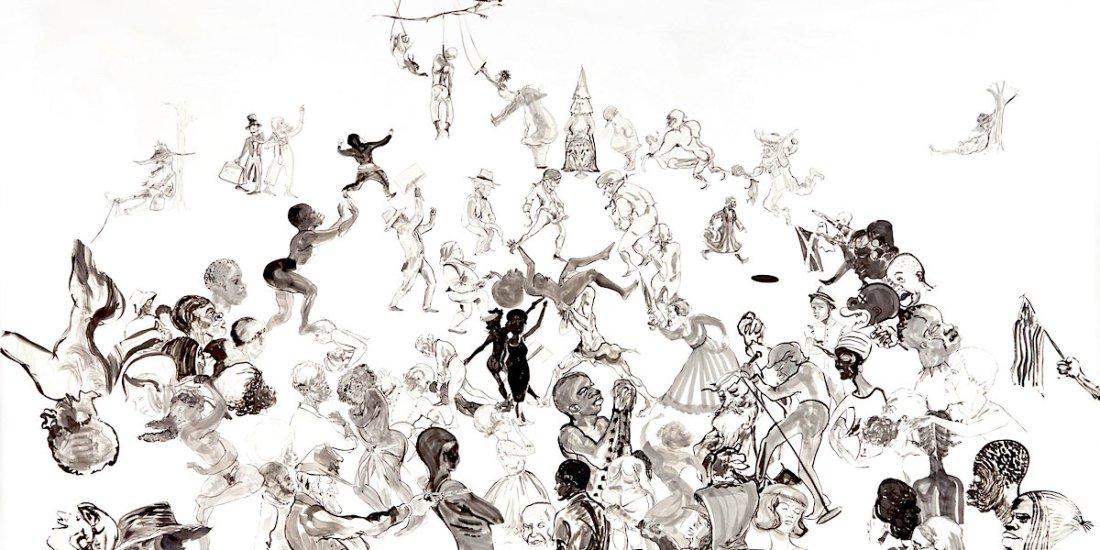 Kara Walker, African American Art, African American Women Artists, KOLUMN Magazine, KOLUMN