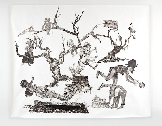 "Kara Walker, The Pool Party of Sardanapalus, The (Private) Memorial Garden of Grandison Harris, ""U.S.A. Idioms"", African American Art, Black Art, KOLUMN Magazine, KOLUMN"