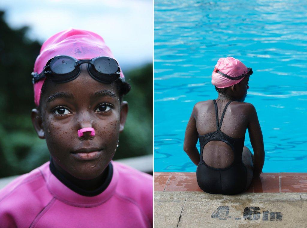 Ajoni, Katana Blount, Joydayne, Laila, Nyouka, Synchronized Swimmers, Jamaica, Jamaican Athletes, Caribbean, Caribbean History, Black History, KOLUMN Magazine, KOLUMN