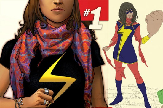 African Superhero, African American Superhero, Ms Marvel, AKA Kamala Khan, KOLUMN Magazine, KOLUMN, KINDR'D Magazine, KINDR'D