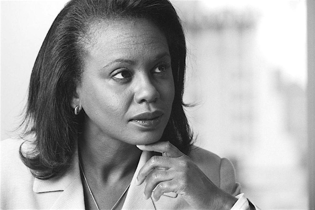 Anita Hill, Clarence Thomas, Violence Against Women, KOLUMN Magazine, KOLUMN, Willoughby Avenue