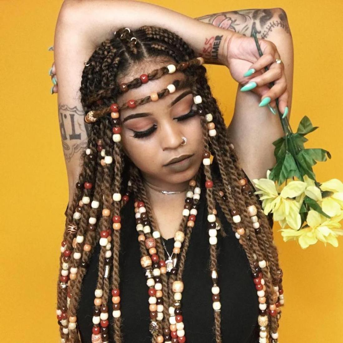African Hair Styles, African Culture, African Beauty, African History, History of Beads, Black Beautiful Hair, KOLUMN Magazine, KOLUMN, KINDR'D Magazine, KINDR'D, Willoughby Avenue