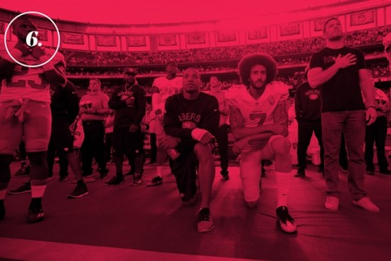 Colin Kaepernick, African American Activist, Black Activist, African American Athlete, Black Athlete, American Racism, U.S. Racism, Trump Racism, KOLUMN Magazine, KOLUMN, KINDR'D Magazine, KINDR'D, The FIVE FIFTHS, Willoughby Avenue