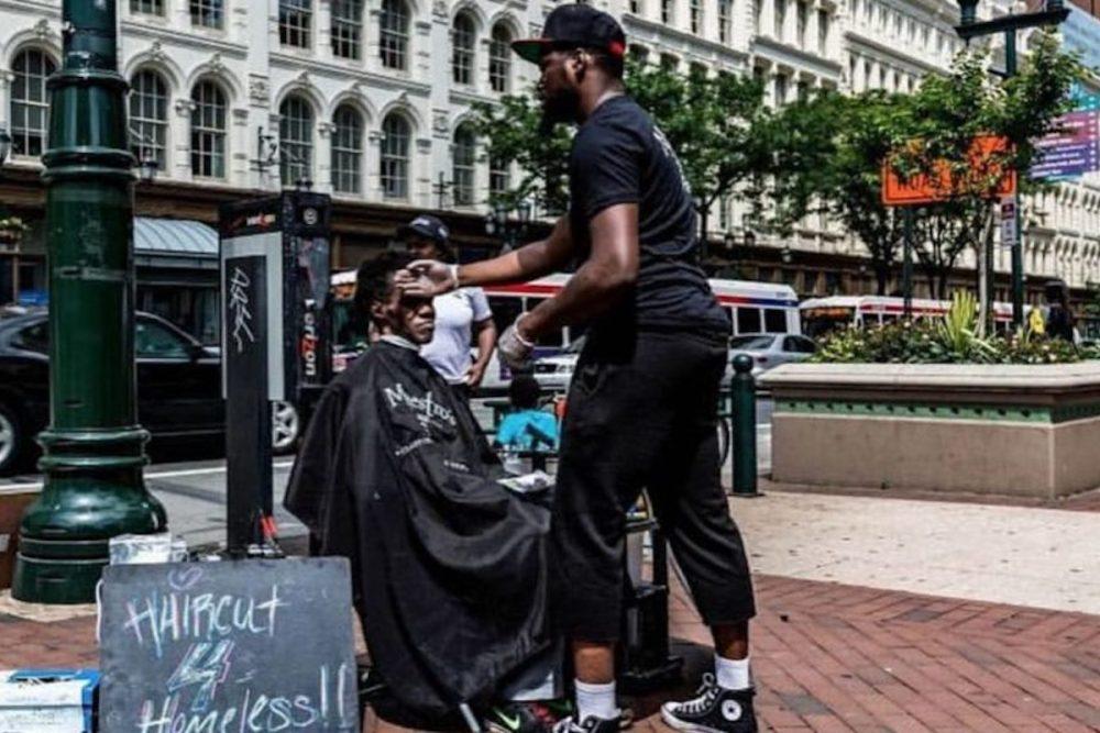 Brennon Jones, Taper's Barbershop, Haircuts 4 Homeless, African American Charity, African American Non Profit, African American Community, KOLUMN Magazine, KOLUMN, KINDR'D Magazine, KINDR'D, Willoughby Avenue, WRIIT, Wriit,