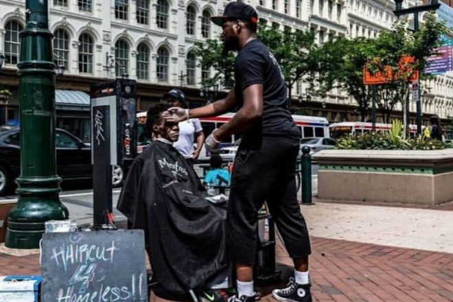 Brennon Jones, Taper's Barbershop, Haircuts 4 Homeless, African American Charity, African American Non Profit, African American Community, KOLUMN Magazine, KOLUMN, KINDR'D Magazine, KINDR'D, Willoughby Avenue, WRIIT, Wriit,