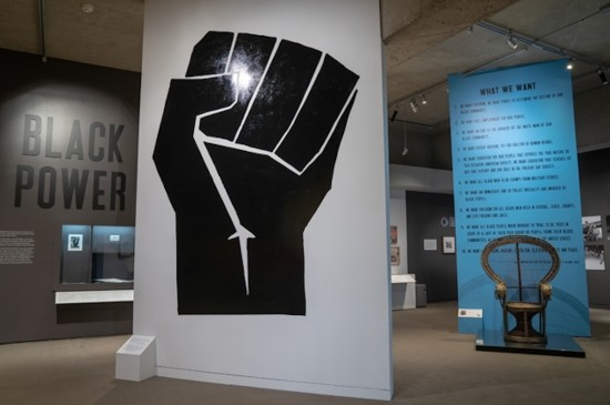 Oakland Museum, All Power to the People: Black Panthers at 50, African American Museum, Black Power, Black Power Art, Black Museum, African American Art, Black Art, Civil Rights, Activist Art, KOLUMN Magazine, KOLUMN, KINDR'D Magazine, KINDR'D, Willoughby Avenue, WRIIT, Wriit,