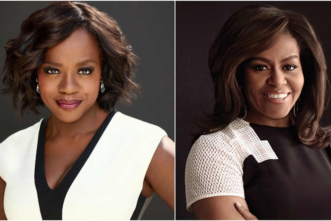 Viola Davis, Michelle Obama, African American Entertainer, Black Entertainer, KOLUMN Magazine, KOLUMN, KINDR'D Magazine, KINDR'D, Willoughby Avenue, WRIIT, Wriit,