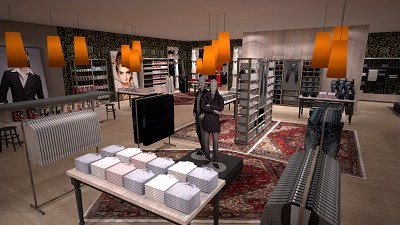 KomStore Retail Rendering