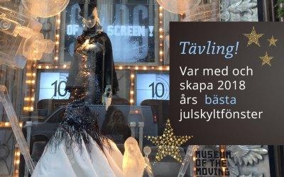 Tävling 2018 års bästa julskyltfönster