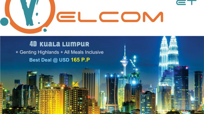Malaysia Tours (Kuala Lumpur Tour Packages) By Velcom ET