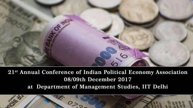 21st Annual Conference of Indian Political Economy Association