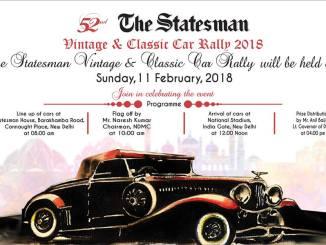 The Statesman, VCCR, Statesman Vintage, Vintage Car, Vintage Bike, Classic Car, Classic Bike, Statesman Vintage, Delhi Vintage