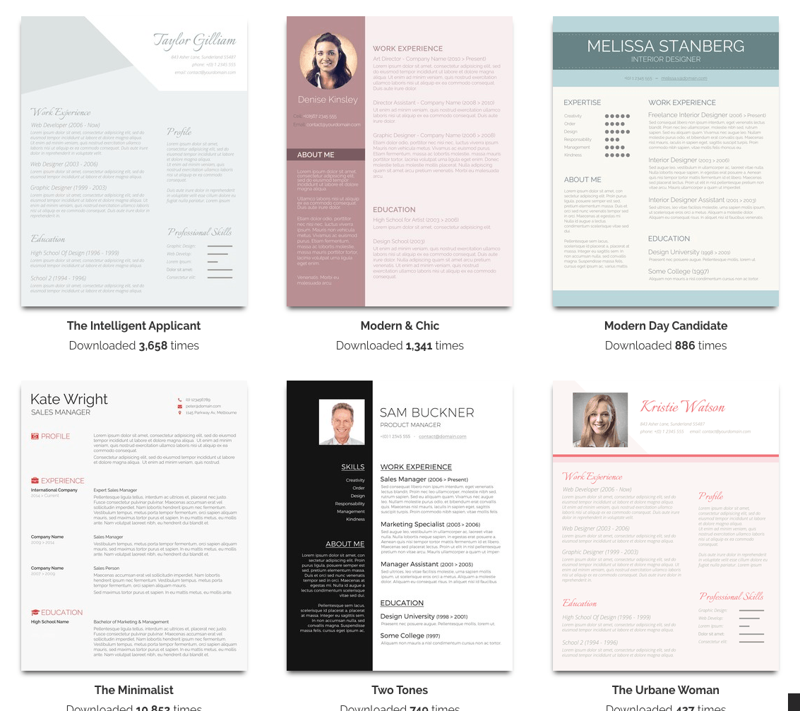 Real Free Resume Templates Summary For Resume Kcdrwebshop