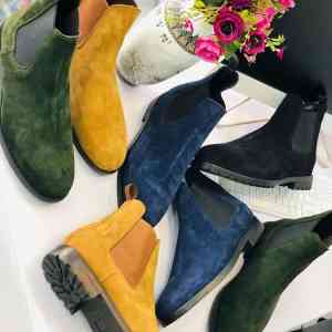Men's Classic Chelsea Suede Boots For Sale In Nigeria